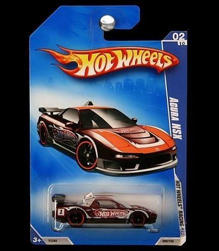 Hot Wheels 2009 Hot Wheels Racing: Acura NSX 068/180, - Acura Wheels Nsx Hot
