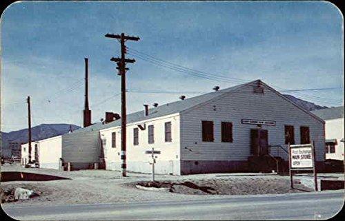 Main Store, Post Exchange, Camp Carson Colorado Springs, Colorado Original Vintage - The Store Colorado Springs Colorado
