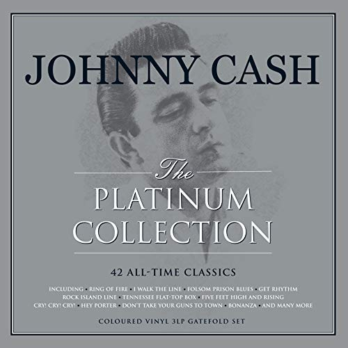 The Platinum Collection (White Vinyl) -Johnny Cash