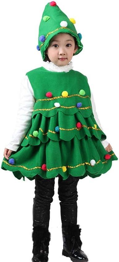 Baohooya Disfraz Elfo Navidad Niñas Niños - Conjuntos Ropa Bebe ...