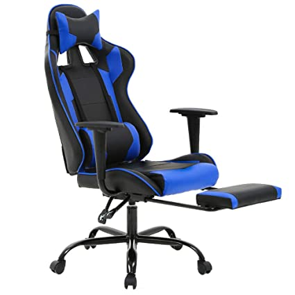 Amazon.com: Gaming Chair Racing Style High-Back Office Chair ...