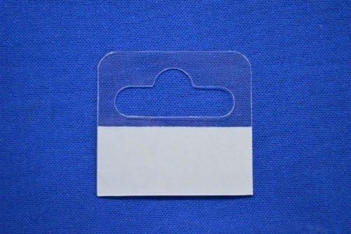 Euro Tags Hang Tags Slot HangTabs Strong Hold Adhesive Tags 50mm x 50mm