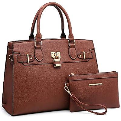 Women Handbag Fashion Ladies Shoulder Bag Top Handle Satchel Purse 2 Pieces Set