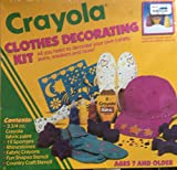 Crayola Clothes Decorating Kit