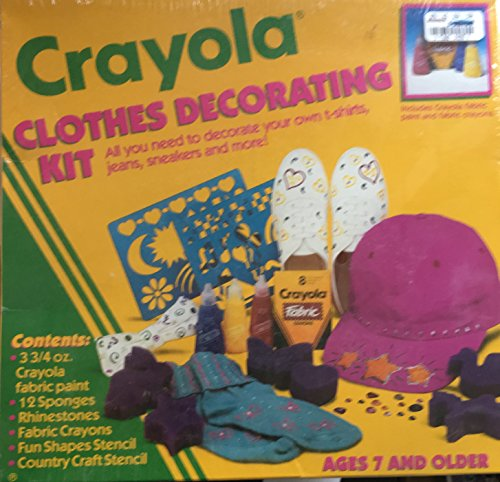 Crayola Clothes Decorating Kit by Crayola
