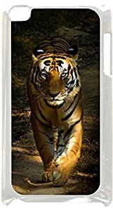 Royal Tiger Cub- Case for the Apple Ipod 4th Generation-Hard White Plastic