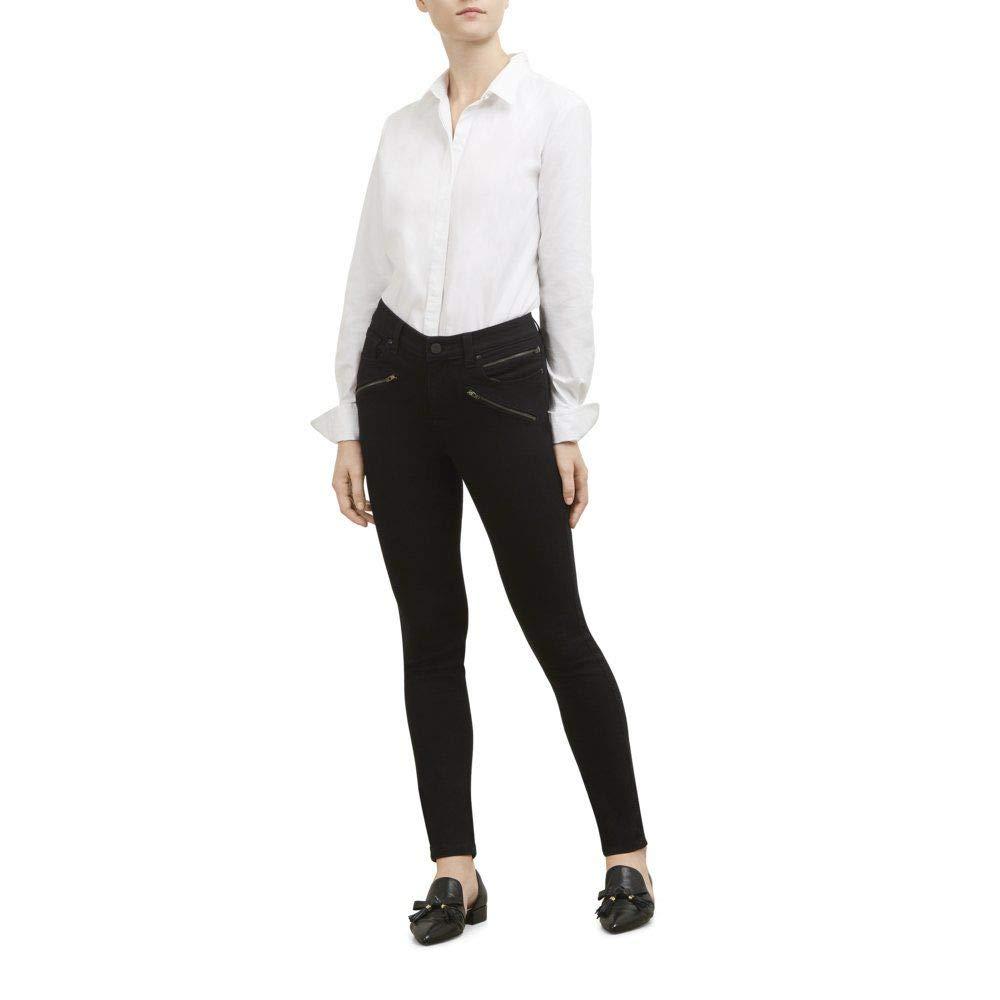 cf02fcc226 Kenneth Cole New York Women's Jess Moto Skinny in Black at Amazon Women's  Jeans store