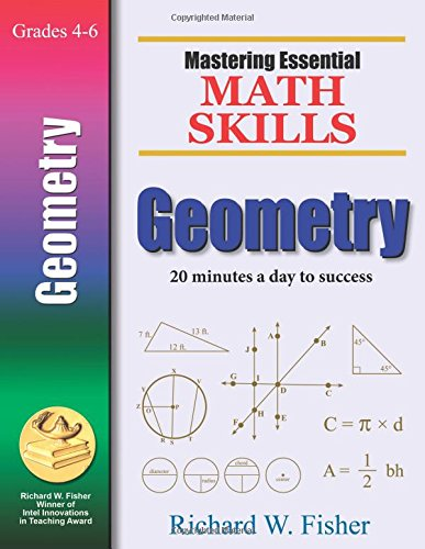 Mastering Essential Math Skills GEOMETRY cover