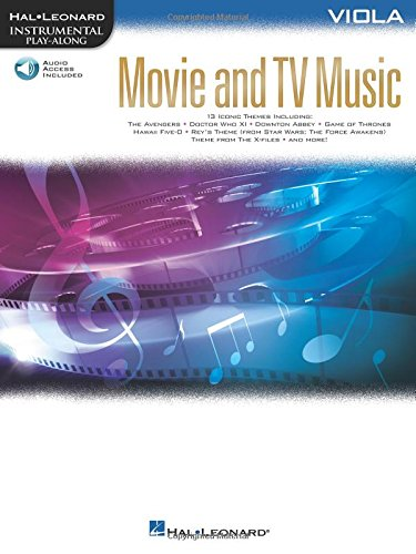 Movie and TV Music for Viola: Instrumental Play-Along  Series (Hal Leonard Instrumental Play-Along)