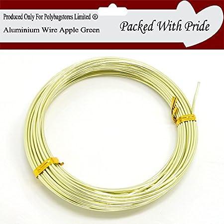 LIGHT STEEL BLUE 0.8mm Aluminium Jewellery Modelling Craft Beading Florist Wire