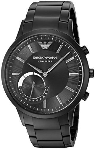 Emporio Armani Connected Hybrid Smartwatch Men s ART3001 Black ddd8e6ab135