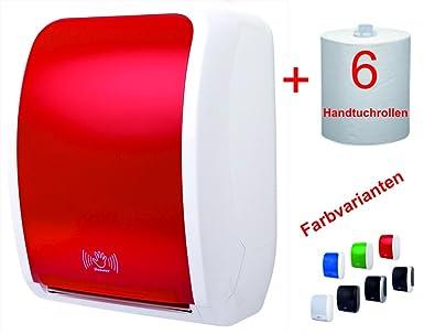 tsk-y Sistema de Juego Toallas de papel toalla dispensador sensor rojo/blanco 4400