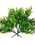 artificial evergreen bushes - 4 pcs, 12,5