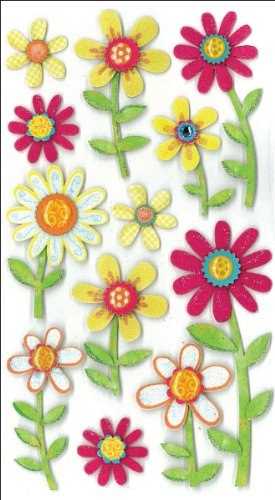 Jolee's Boutique 50-50289 Sticker 3D Large Daisies, Multicolor from Jolee's Boutique