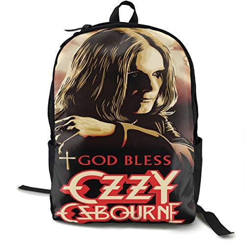 Ozzy Osbourne Belt - Kina D Wilson Ozzy Osbourne Backpack Canvas Backpack Campus School Bag