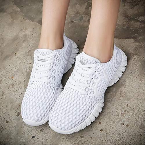 Exing Rosa Höhe Erhöhen Frauen Polyurethan B Mesh Untere Damenmode Schuhe PU Freizeitschuhe Shake Dicke Weiß Schuhe Schwarz TrZqW1wT