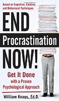 End Procrastination Now! Front Cover