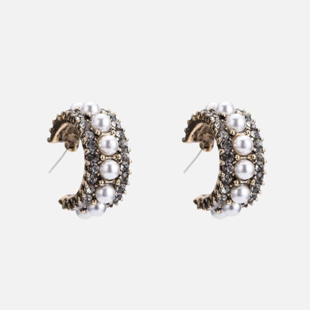 Pendientes de Botón Pendientes Colgantes Pendiente de Gota Pendientes de Perlas de Circonio 925 Pendientes Hipoalergénicos de Aguja de Plata Pendientes de Mujer Pendiente de Botón Regalos de Joyería