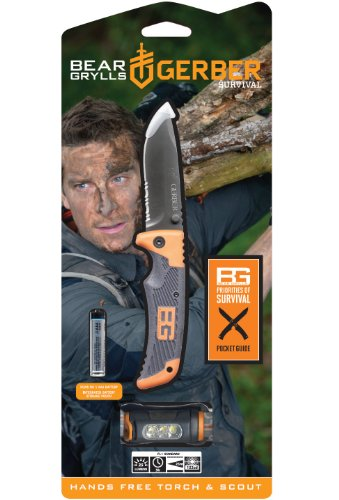 Gerber-31-002369-Bear-Grylls-Combo-with-Scout-Clip-Folder-and-Hands-Free-Torch