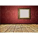 Daniu Window Background Photo Studio Wooden Floor Photography Backdrops Vinyl 7x5FT QX100