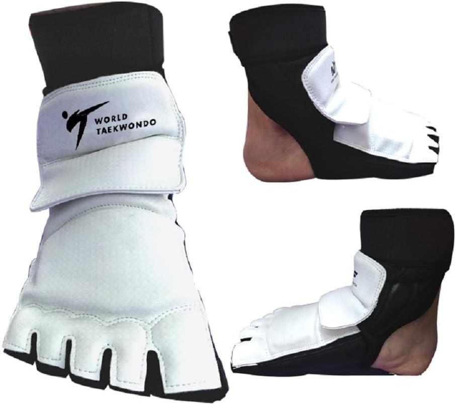 Aship Men Women Taekwondo Foot Protector Karate Boxing Foot Guard Martial Arts Training Fight Punch Bag Sparring MMA WTF for Children Kids Beginner Foot Gear : Sports & Outdoors