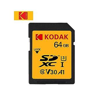 Grborn Tarjeta SD Tarjeta de Memoria de 64GB UHS-II Alta ...