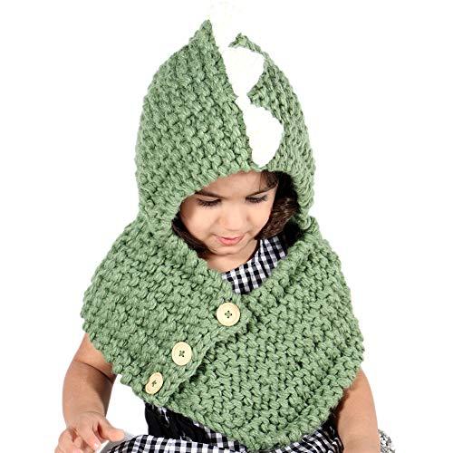 d4477dd55e6 Kids Knit Hat Winter Hat Warm Animal Hat Handmade Crochet Hat Scarf Cute  Animal Ear Beanies