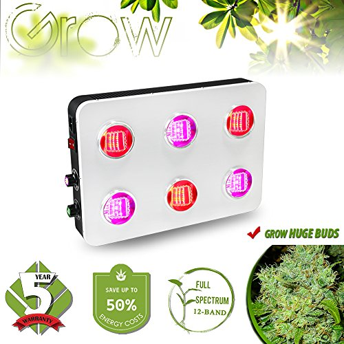 Hydroponic Grow Light for Indoor Plants Veg Flower...