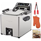 Waring TF250WSFR Electric Rotisserie Turkey Fryer and Deep Review and Comparison