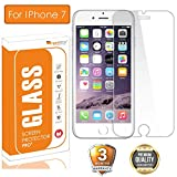 OpenTech Apple iPhone 7 Tempered Glass Screen Protector with Installation kit (2.5 D and Full Transparent)