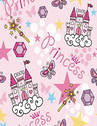 Princess: Quote Cover Kids Large Ruled Notebook Lined