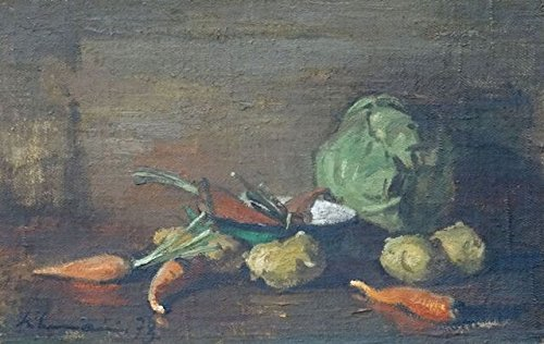 Still life with vegetables (Portraits Vegetable)
