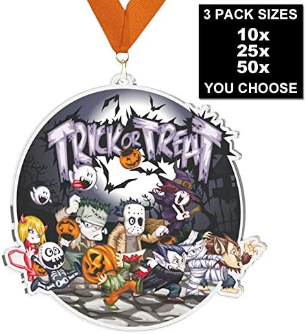 Trophy Monster Halloween Trick or Treat Big Medal Pack Buy 10, 25 ...