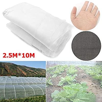 XINLIFAN 8x32ft Mosquito Netting Bug Insect Bird Net Crop Vegetable Protection Fine Mesh very good