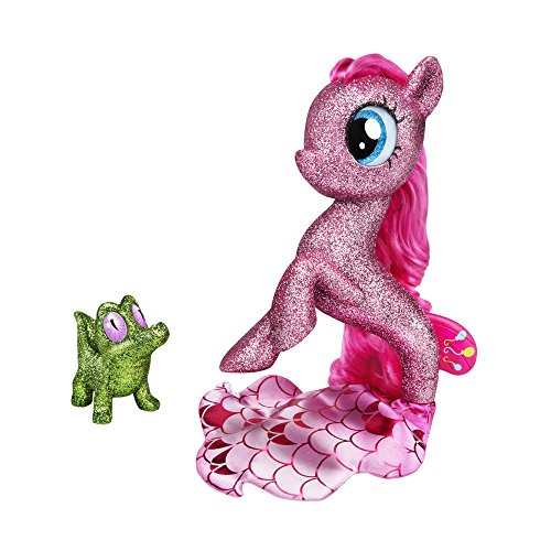 My Little Pony: The Movie Pinkie Pie Seapony Figure with Light-Up Base (Amazon -