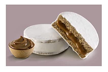 Amazon.com : Alfajores Havanna Mixtos Chocolate Negro y & Choc.Blanco c/ dulce de leche x 6 : Grocery & Gourmet Food