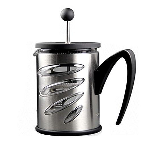 Cafetera Francesa presión de Acero Inoxidable Olla a presión Juego ...