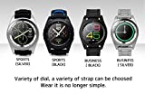 iSTYLE Fashion NO.1 G6 Smart Watch Bluetooth 4.0 Heart Rate Monitor Fitness Tracker Call SMS Reminder Remote Camera for Android IOS Smart phones (Black Steel) For Sale