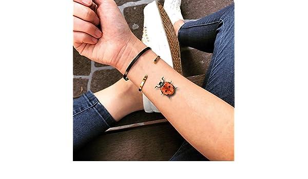 Tatuaje Temporal de Mariquita (2 Piezas) - www.ohmytat.com: Amazon ...