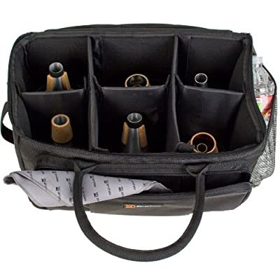 Pro Tec M404 Trumpet Multiple Mute Bag with Modular Walls from Pro Tec