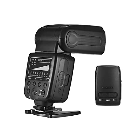 TOPTOO Flash Universal Speedlite 2.4G Flash inalámbrico 5600K GN33 ...