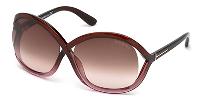 88f43c29776 Image Unavailable. Image not available for. Color  Tom Ford Sandra Tf297  Ft0297 Authentic Designer Sunglasses Sun Glasses 50f Brown