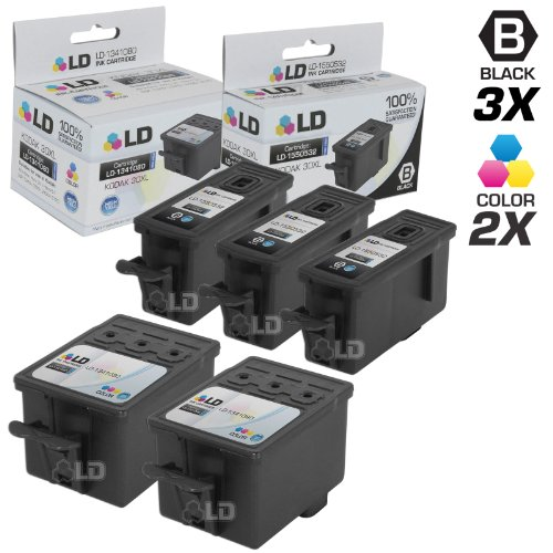 LD © Compatible Kodak 30 / 30XL Set of 5 High Yield Ink C...