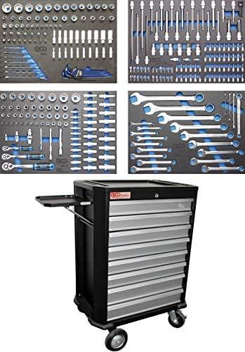 BGS 4090   Werkstattwagen   8 Schubladen   mit 293 Werkzeugen