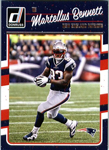 2016 Donruss  179 Martellus Bennett New England Patriots Football Card