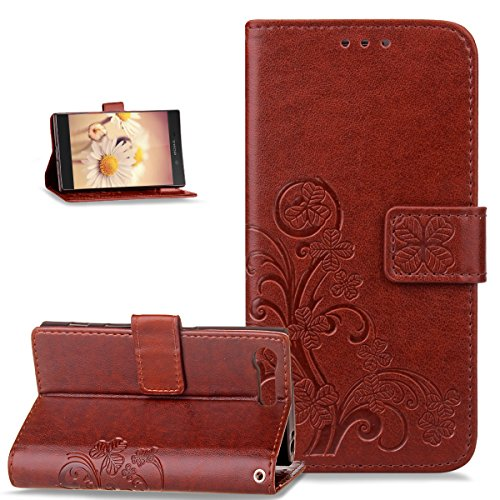 sony-xperia-xcompact-casesony-xperia-xcompact-coverikasus-embossing-clover-flower-pu-leather-fold-wa