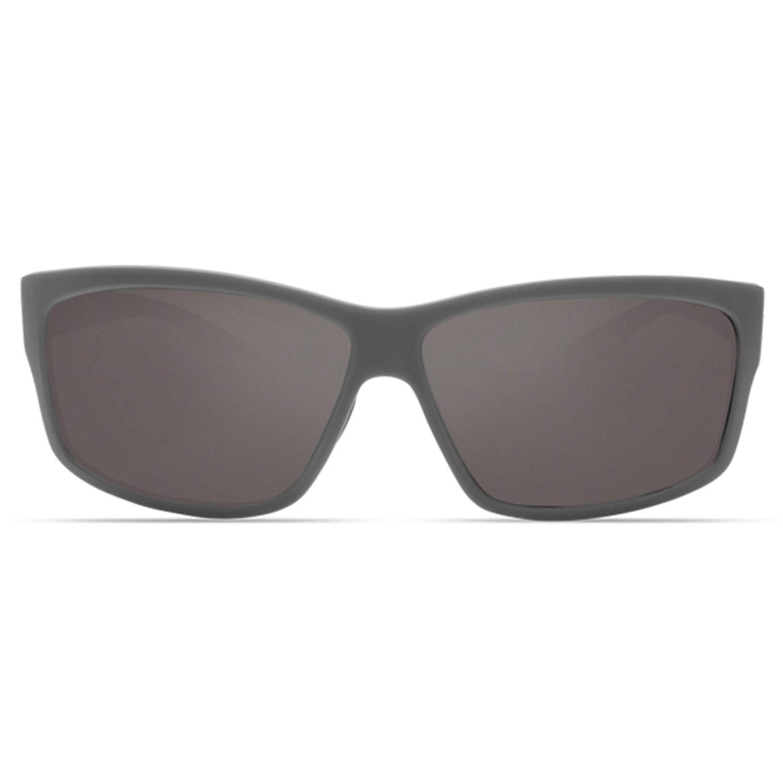 Matte Gray Frame Gray 580G Pro-Motion Distributing Direct Costa Del Mar Costa Del Mar UT98OGGLP Cut Gray 580G Matte Gray Frame Cut
