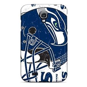 Anti-Scratch Hard Phone Covers For Samsung Galaxy S4 (Bwg1546xQTc) Custom Vivid Seattle Seahawks Series