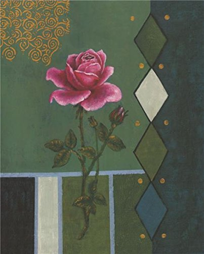 Oil Painting 'Pink Rose', 20 x 25 inch / 51 x 63 cm , on Exuberant Definition HD canvas prints is for Gifts And Bed Room, Home Office And Laundry Room Decoration, onlineprinting