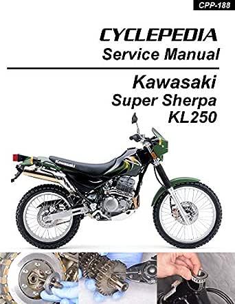 Amazon.com: Kawasaki KL250 Super Sherpa Service Manual eBook: Cyclepedia  Press LLC: Kindle StoreAmazon.com